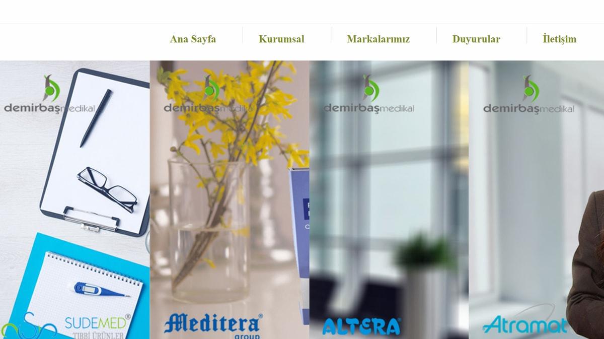 Sudemed Tıbbi Urunler | Demirbaş Medikal is online with its new site.
