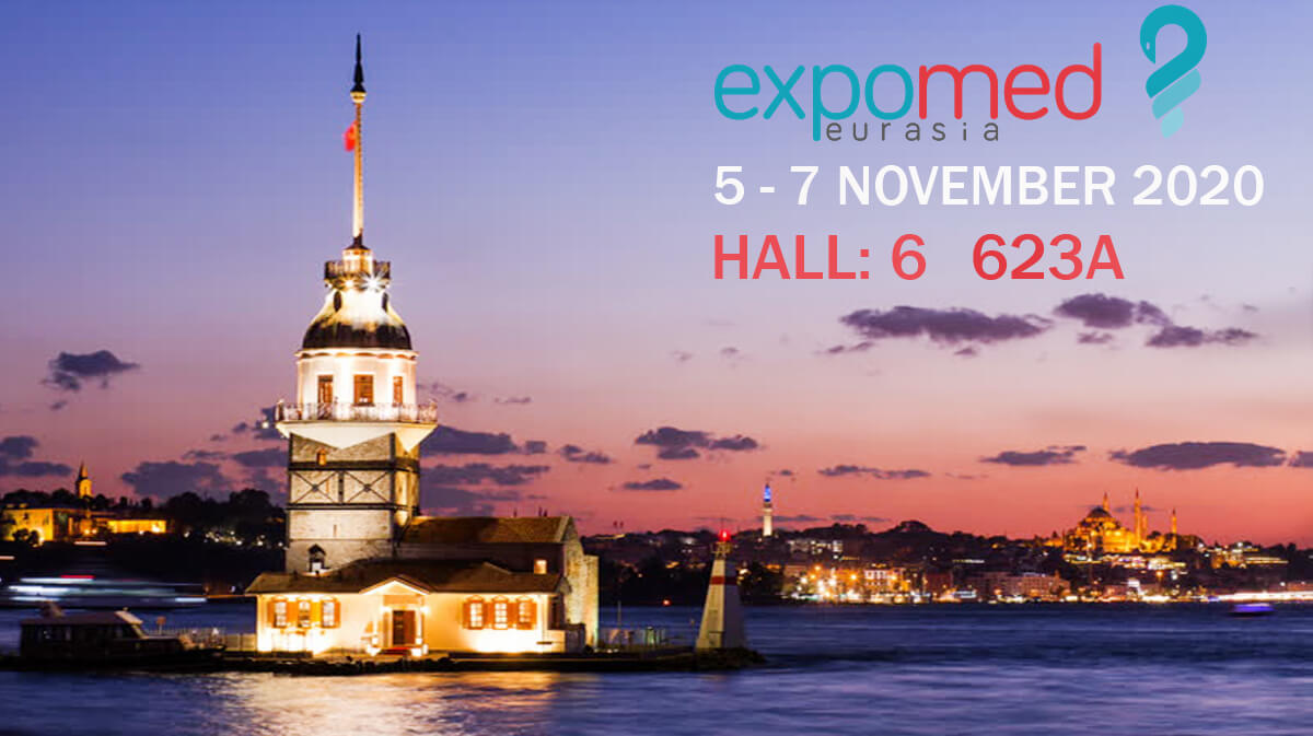 Sudemed Tıbbi Urunler | We are at Expomed Eurasia 2020, which will be held between 5-7 November 2020 in Istanbul Tuyap Exhibition Center.