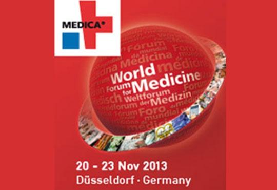 Sudemed Tıbbi Urunler | Medica 2013 Fuarındaydık