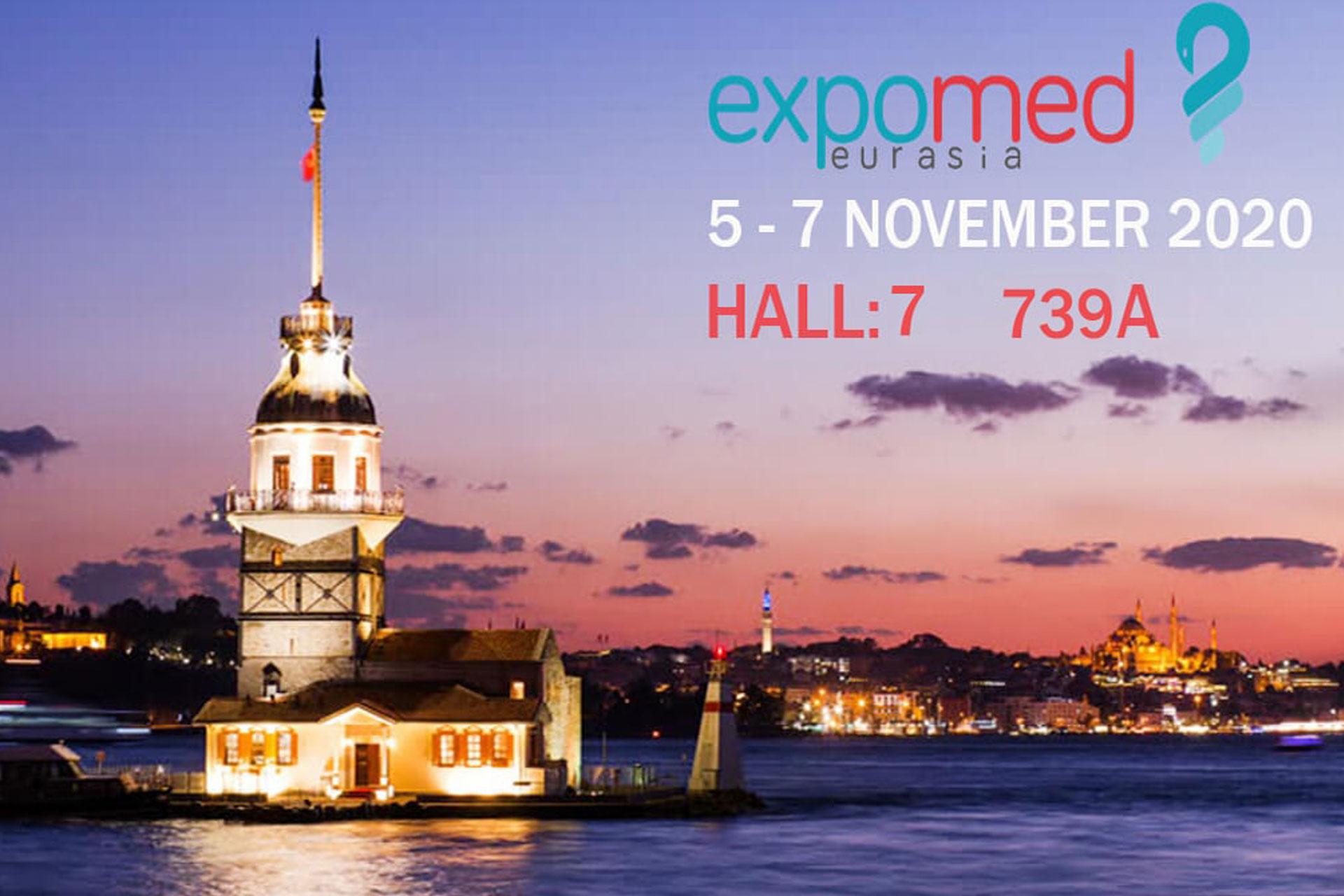 Мы на выставке Expomed Eurasia 2020.