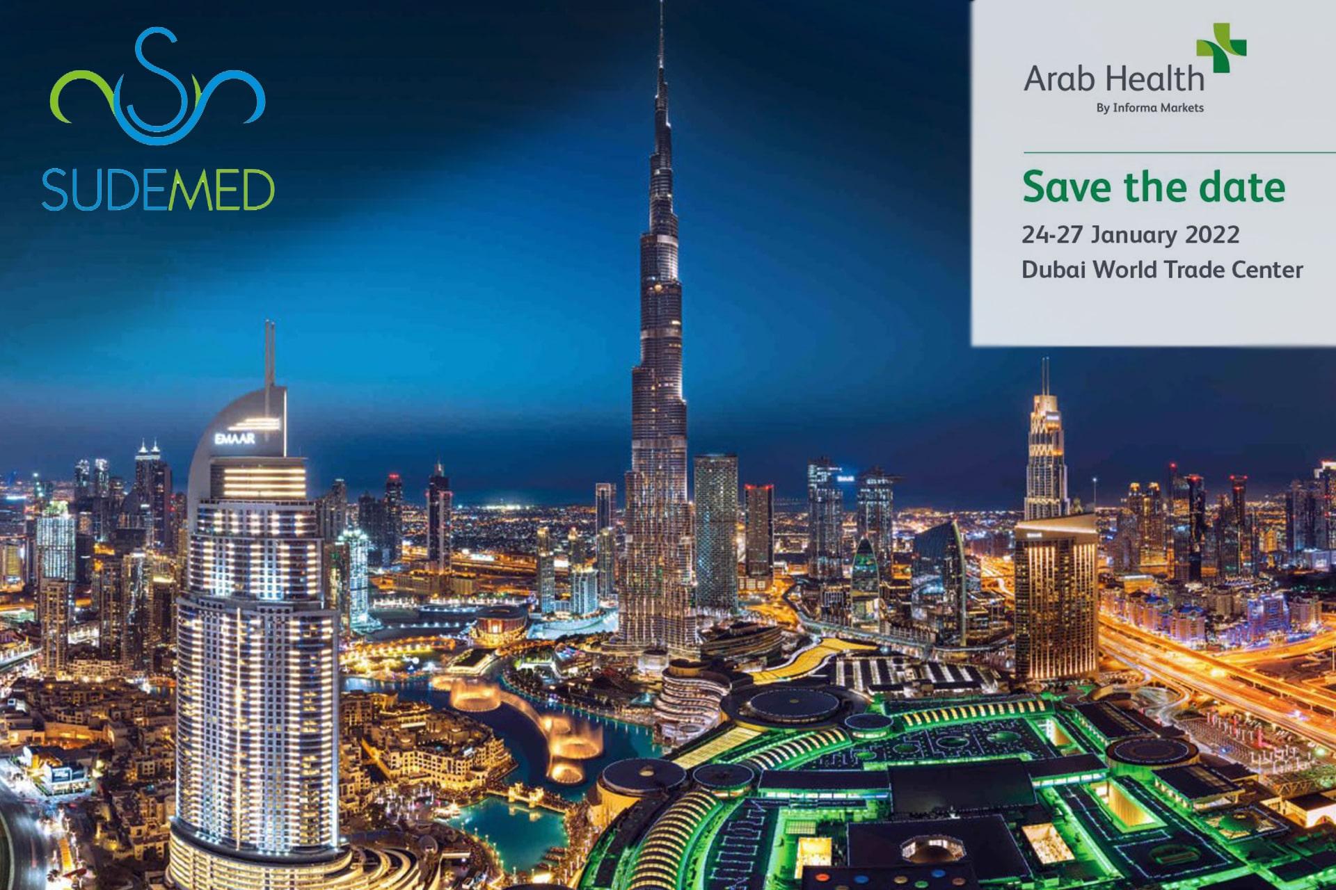 Dubai Arab Health  2022 fuarındayız